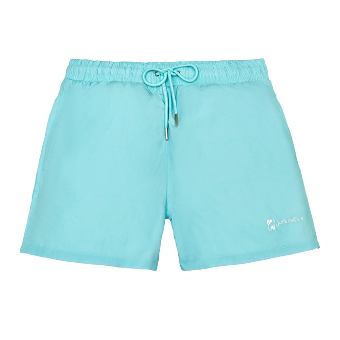 'JUST NATURE Men's Mint Swim Shorts | Classic Fit | 100% Polyester