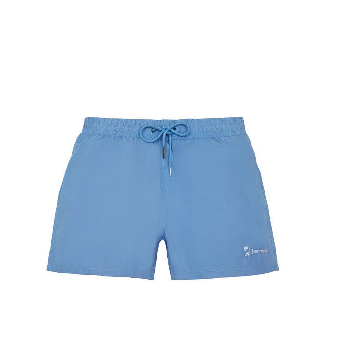JUST NATURE Boy's Blue Swim Shorts | Classic Fit | 100% Polyester