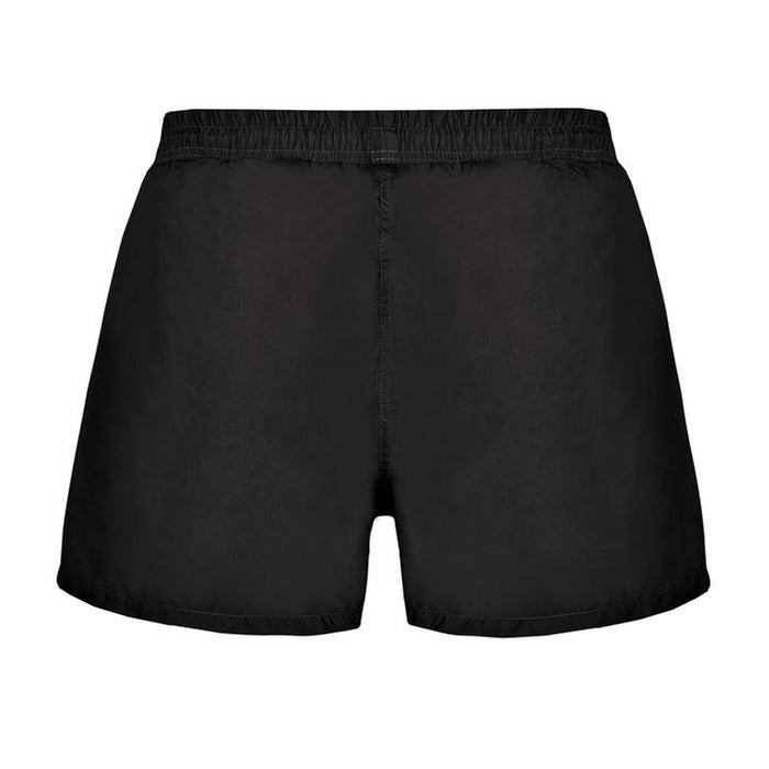 JUST NATURE Men's Black Swim Shorts | Comfort And Style | 100% Polyester