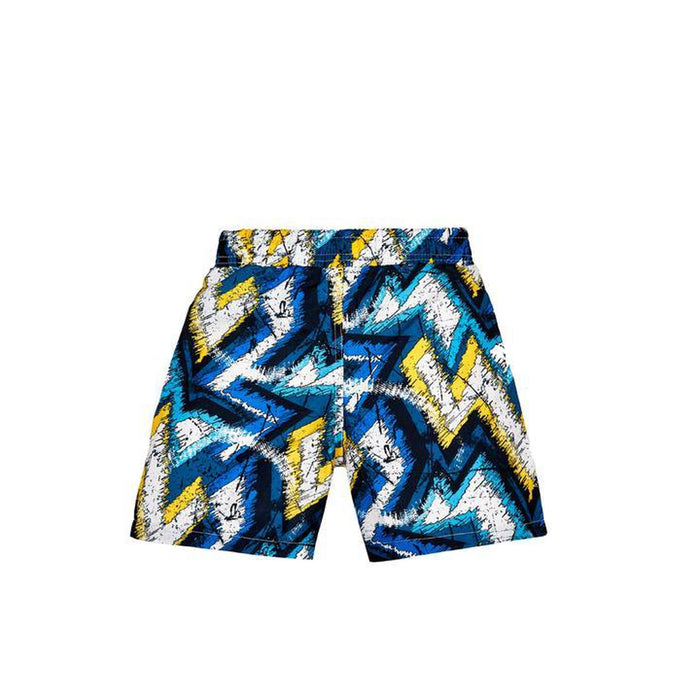 JUST NATURE Boy's Swim Shorts - Game Over | Classic Fit | 100% Polyester