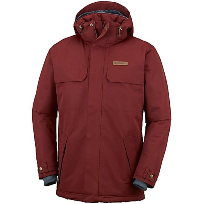 COLUMBIA Men's Rugged Path Jacket - Elderberry | Omni-Heat™ | 100% polyester
