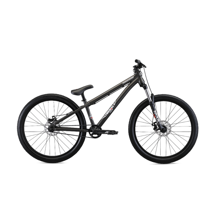 MONGOOSE 26 U Fireball Moto - Grey | Tectonic T1 Aluminum | Samox ISIS Interface 32T