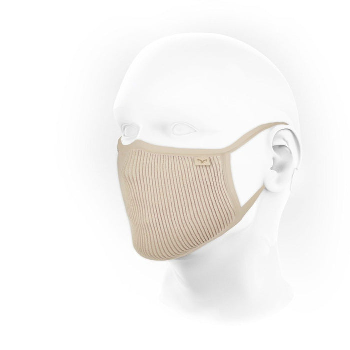 NAROO F.U. Plus Beige - Small | 99% UV Protection Mask | MICRONET Filter Fabric