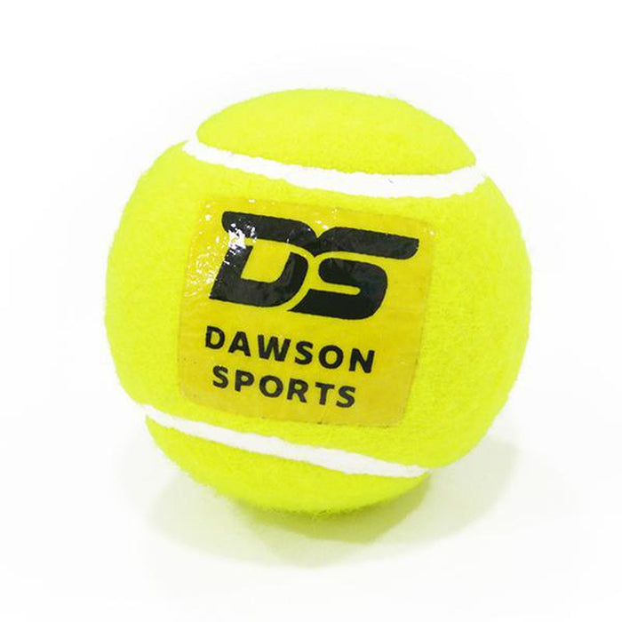 DAWSON SPORTS Hard Tennis Cricket Ball (Pack Of 4) | Perfect For Outdoor Cricket | 128 Grams