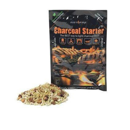 INSTAFIRE Charcoal Starter | Non-Volatile | Lights Up To 75 Charcoal Briquettes
