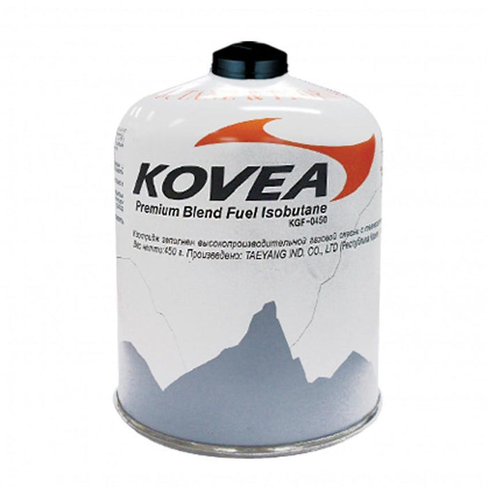 KOVEA Gas Canister 450G | Threaded gas cylinde | Made of premium steel
