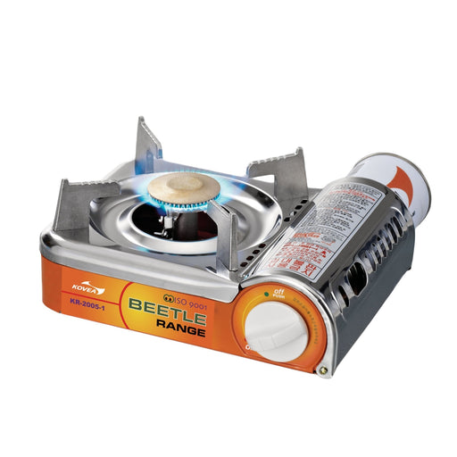 KOVEA Beetle Stove | International Patent Gas Connector | Butane (Nozzle Type Gas Canister)