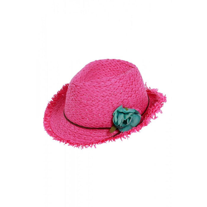 SLIPSTOP Girl's Lola Hat | Clean Traditional Look | 100% Paper Straw