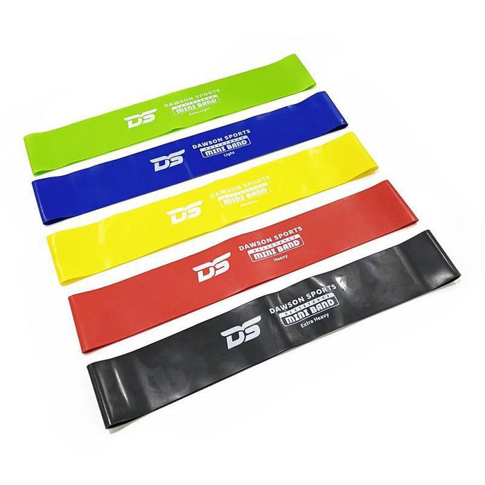 DAWSON SPORTS Ds Latex Resistance Mini | 5 Levels Of Resistance | Recovery And Injury Rehabilitation