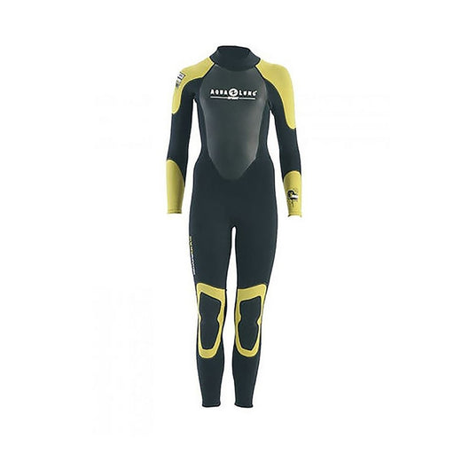 AQUA LUNG Rando Full Kid 3MM- Black/Yellow