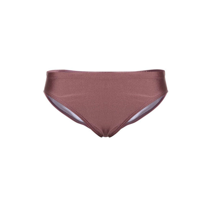 MALUNI Women's Swimming Brief - Rose Pink | Quick Dry And Chlorine Resistant | Nylon 82%, Spandex 18%