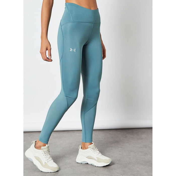 UNDER ARMOUR Women's Fly Fast 2.0 Heat Gear Tight - Lichen Blue | 4-Way Stretch Construction | Super-Light And Fast-Drying Fabric