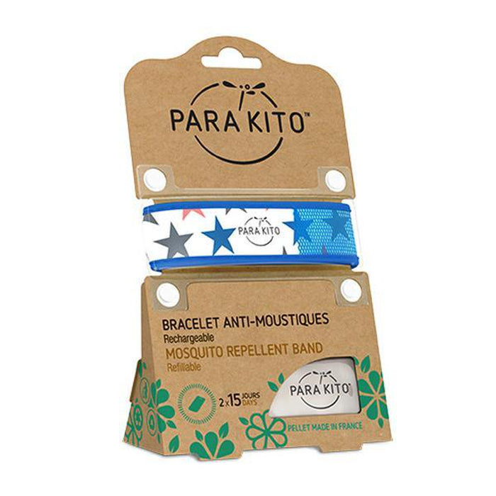 PARAKITO Wristband Stars | Patented Pellet Technology | DEET Free