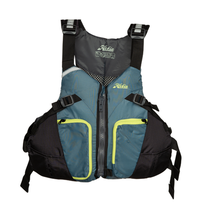 HOBIE Women's PFD Thinback Slate - Plus | Maximum Comfort | Cross-Chest Cinch Harness