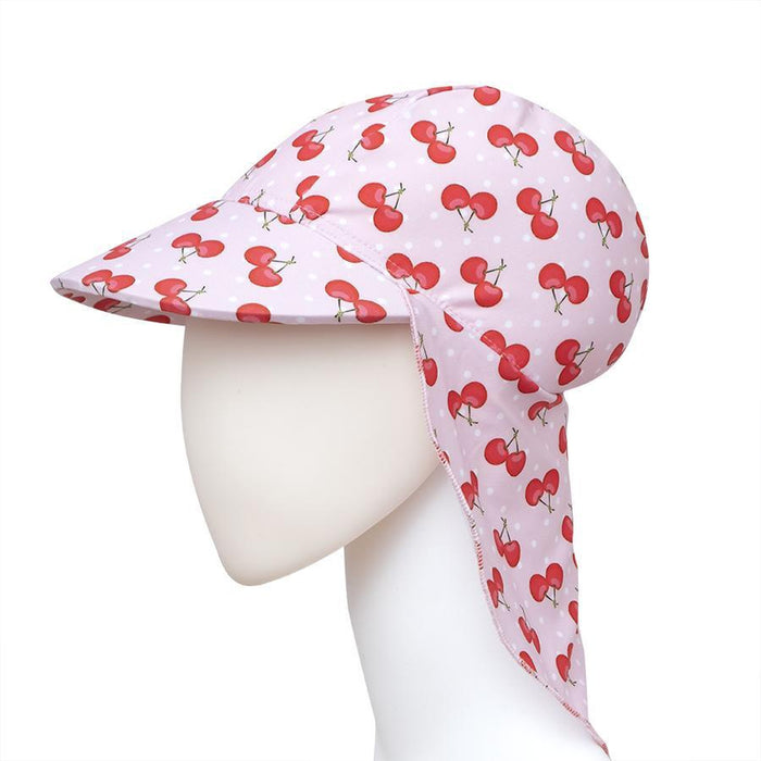 SLIPSTOP Girl's Cherry Sun Hat | UPF 50+ Sun Protection | Breathable Fabric