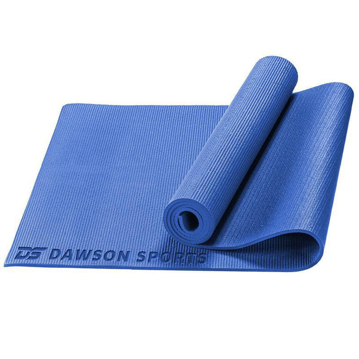 DAWSON SPORTS Yoga Mat - Blue | Soft And Comfortable Surface | Lightweight And Durable Material