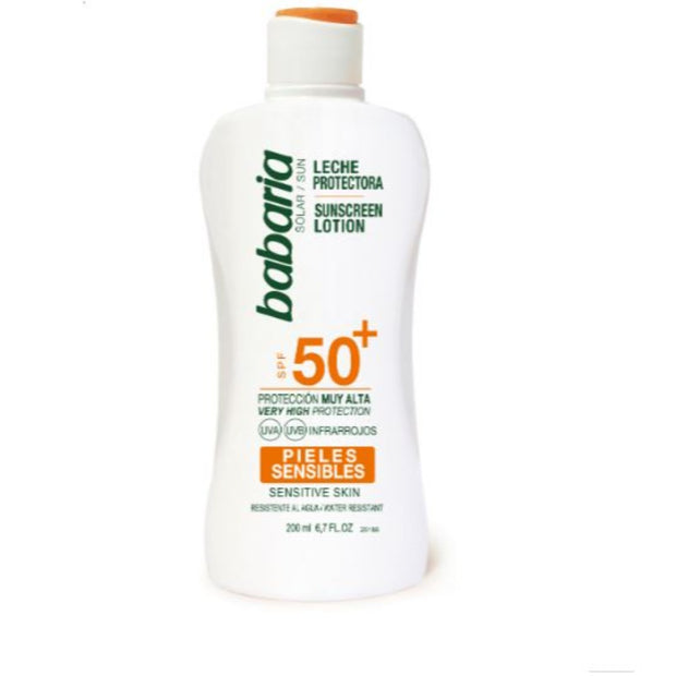 Babaria Spf 50+ Lotion Sensitive 200 ml