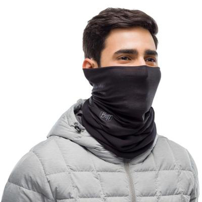 BUFF Polar Neckwarmer Solid Black | Protection Against The Cold | Made Of Primaloft Fabric