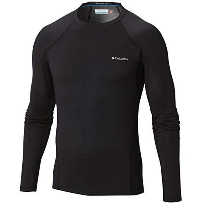 COLUMBIA Men's Midweight Stretch Long Sleeve Top - Omni-Heat™ | 85% Polyester, 15% Elastane
