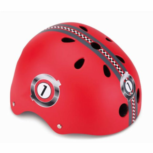 GLOBBER Printed Helmet Jr Racing