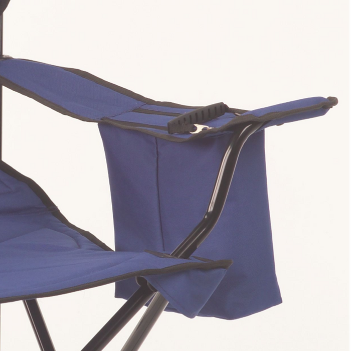 COLEMAN Chair Quad Cooler - Blue | Supports Up To 325 Lbs | Fully Cushioned Seat And Back