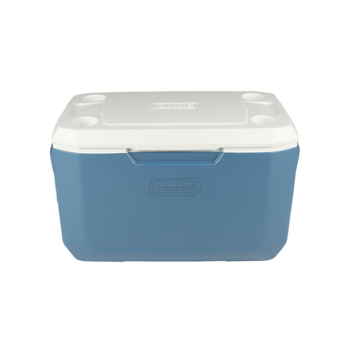 COLEMAN 70 Quart Xtreme - Blue | Keeps the Ice Up To 5 Days | Have-A-Seat™ Lid Supports Up To 250 Lbs