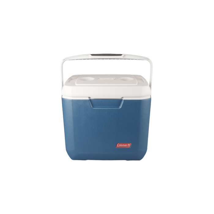 COLEMAN 28 Qt Xtreme - Blue | Keeps The Ice!™ Up To 3 Days | Have-A-Seat™ Lid Supports Up To 250 Lbs