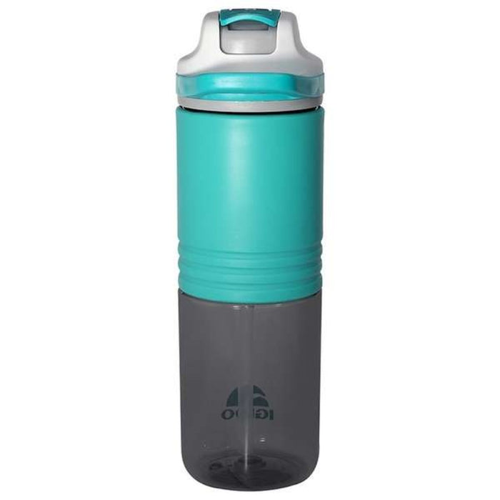IGLOO Silicon Straw Bottle 24Oz - Aqua