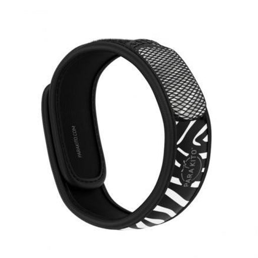 PARAKITO Wristband Zebra | Patented Pellet Technology | DEET Free