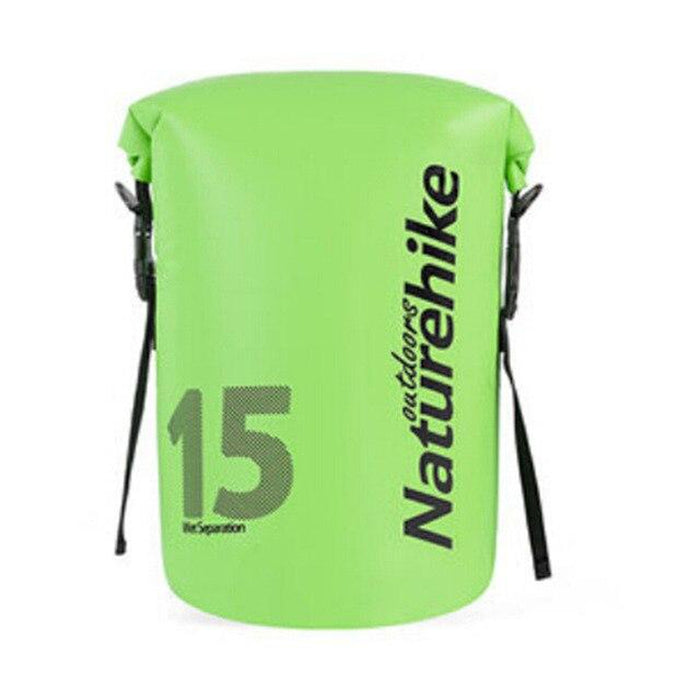 NATUREHIKE 2018 New Dry And Wet Separation Bag - 2 Carry Models | 250D PVC Waterproof Laminated Fabric