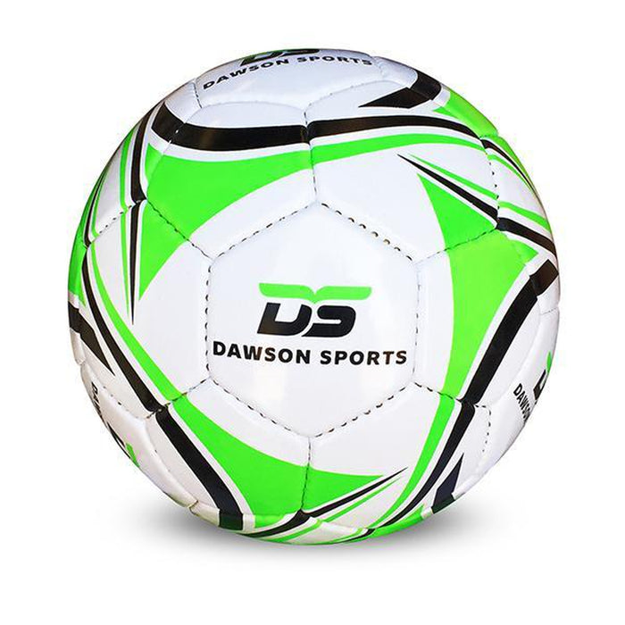 DAWSON SPORTS Kid's International Football - Green | Waterproof 30 Panel | Korean PU With High Gloss Finish