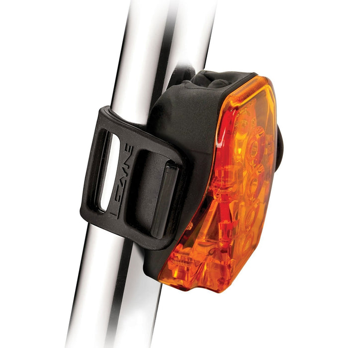 LEZYNE Led Laser Drive Rear - Black | Waterproof | Four Ultra Bright LEDs