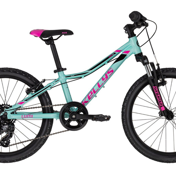 KELLYS Kid's Lumi 50 - Pink/Blue | Light and Durable Aluminum | SHIMANO SL-RS35-7