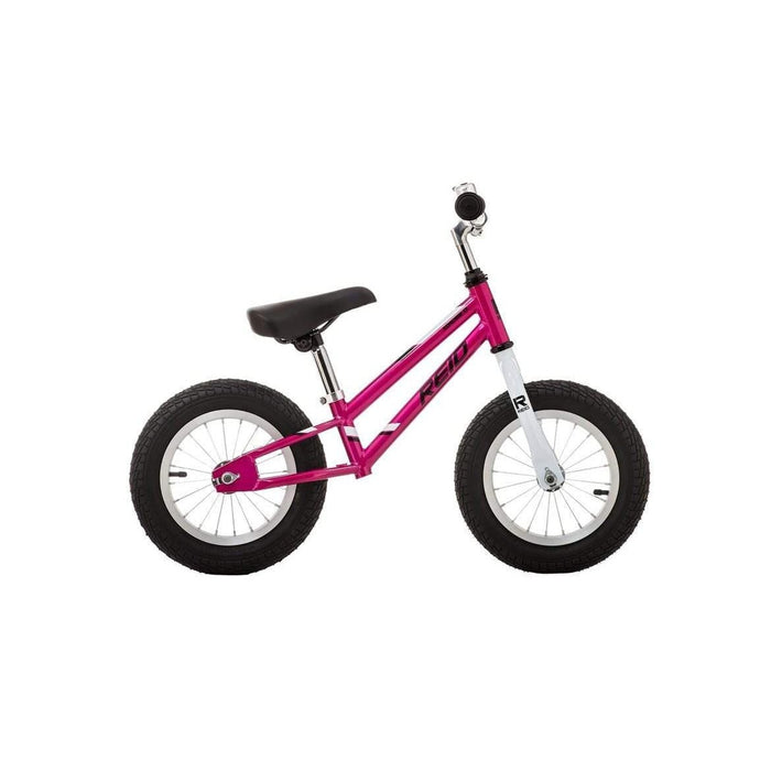 REID CYCLES Kid's Explorer Balance Bike - Lilac/White | Steel | Child Aged 2+