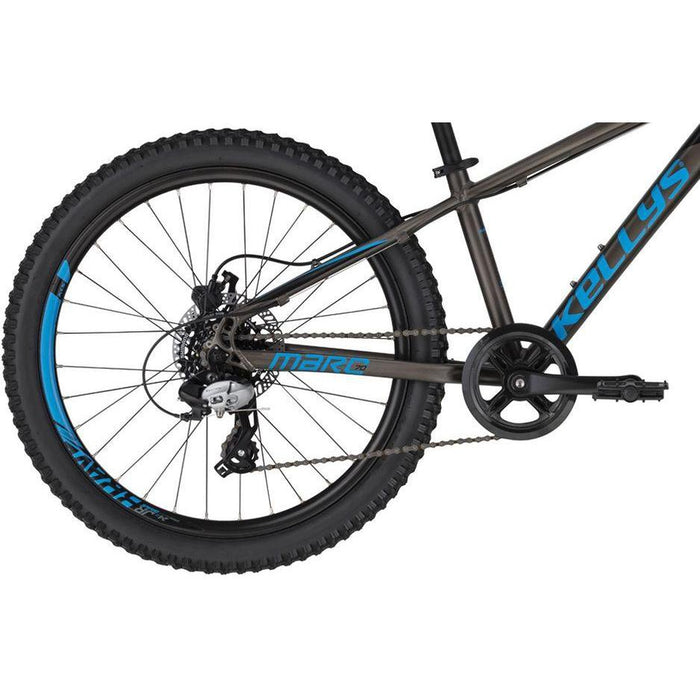 KELLYS Kid's Marc 70 - Black/Blue | Light and Robust Aluminum Alloy | SHIMANO SL-M310