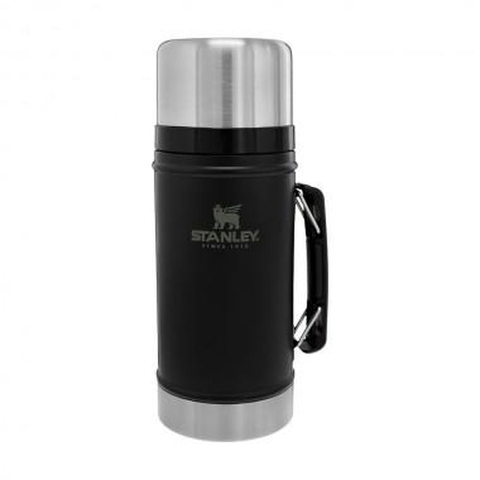 STANLEY 1.0 Quart Classic Legendary Vacuum Insulated Bottle - Matte Black | Stainless Steel | Vacuum-insulated Double Walls