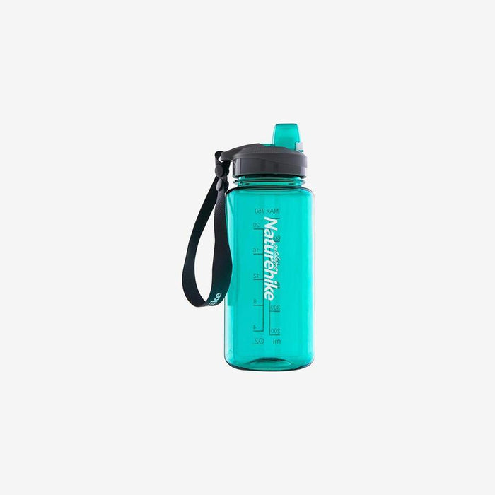 NATUREHIKE 750ML Esay Open Sport Bottle | One-Way Instantaneous Suction System | PCTG Material