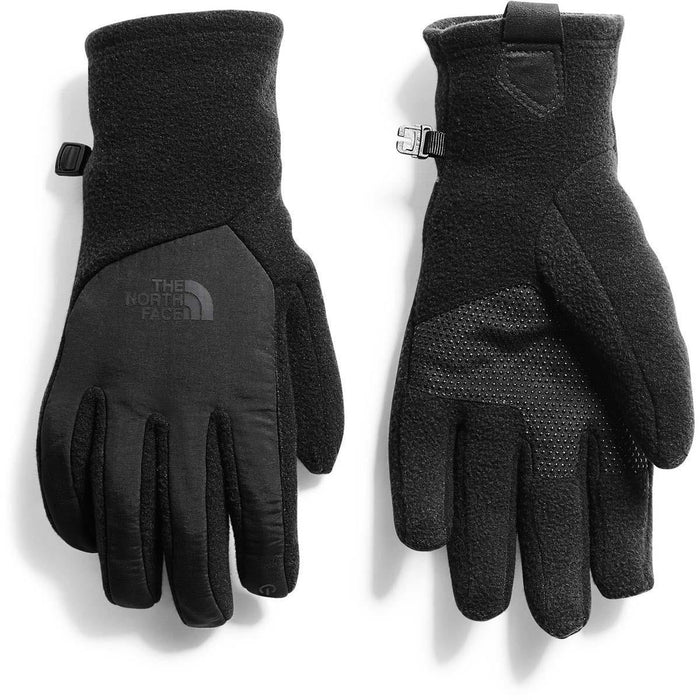 The North Face Women's Denali Etip Glove - Black | Radiametric Articulation | 100% Recycled Polyester