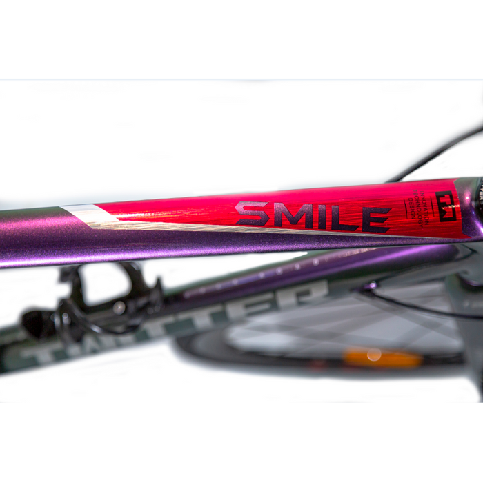 TWITTER Smile C Brake - Holographic Red