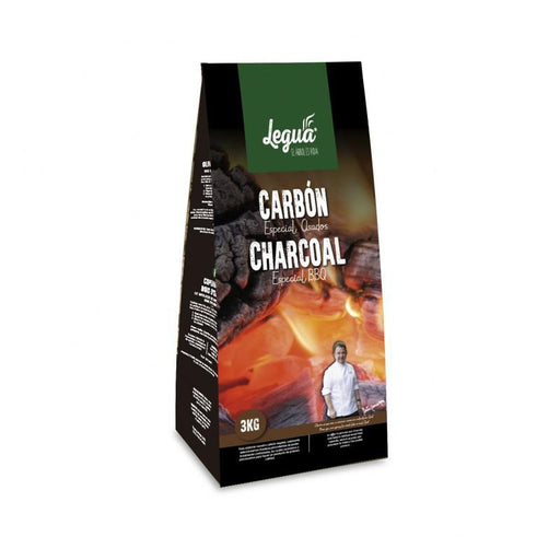 LEGUA Quebracho Charcoal | Europalet | Natural Flavouring And Aroma