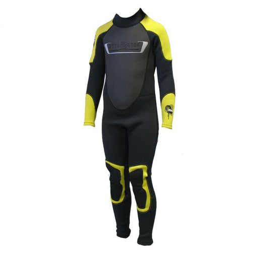 AQUA LUNG Rando Full Kid 3MM - Grey/Yellow