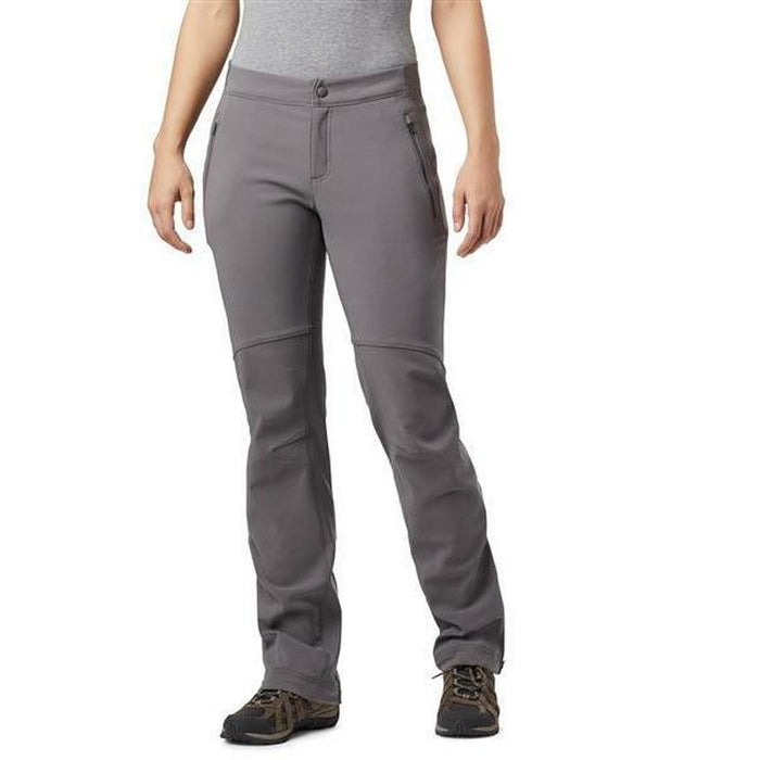 COLUMBIA Women's Passo Alto Pant - Shark/Light Grey | Omni-WICK ™ Technology | 90% Nylon, 10% Elastane