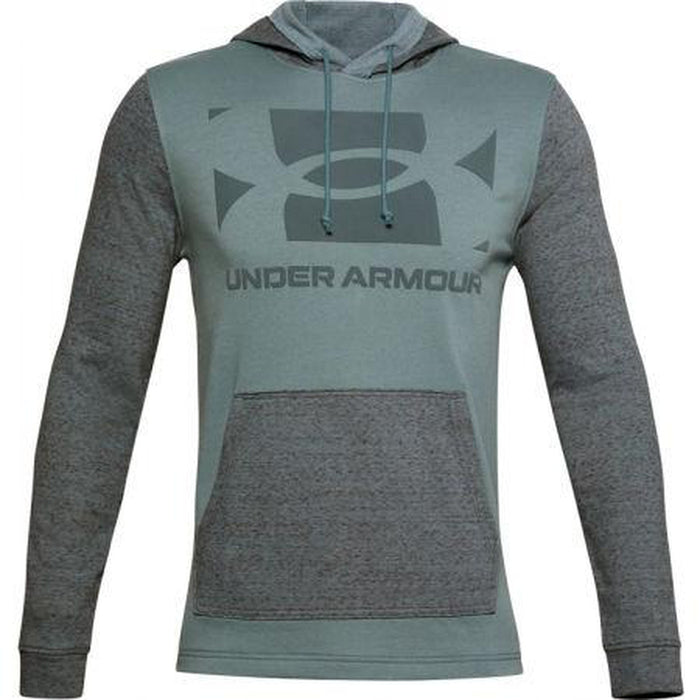 UNDER ARMOUR Men's Sportstyle Terry KO Hoodie | Wicks Sweat And Dries Fast | Crossover Hood Construction
