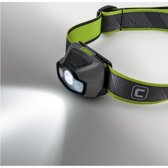 CORE EQUIPMENT 175 Lumen Multi-Color Headlamp