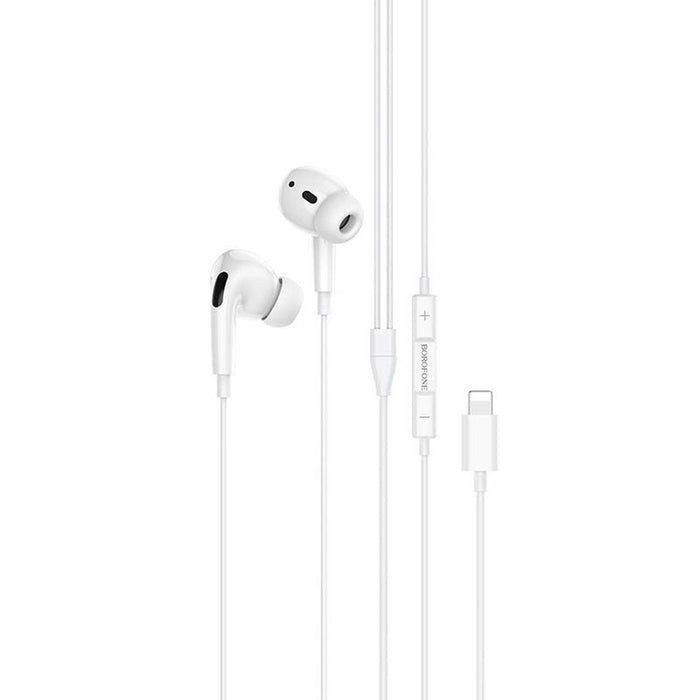 BOROFONE Original Series Earphones - White