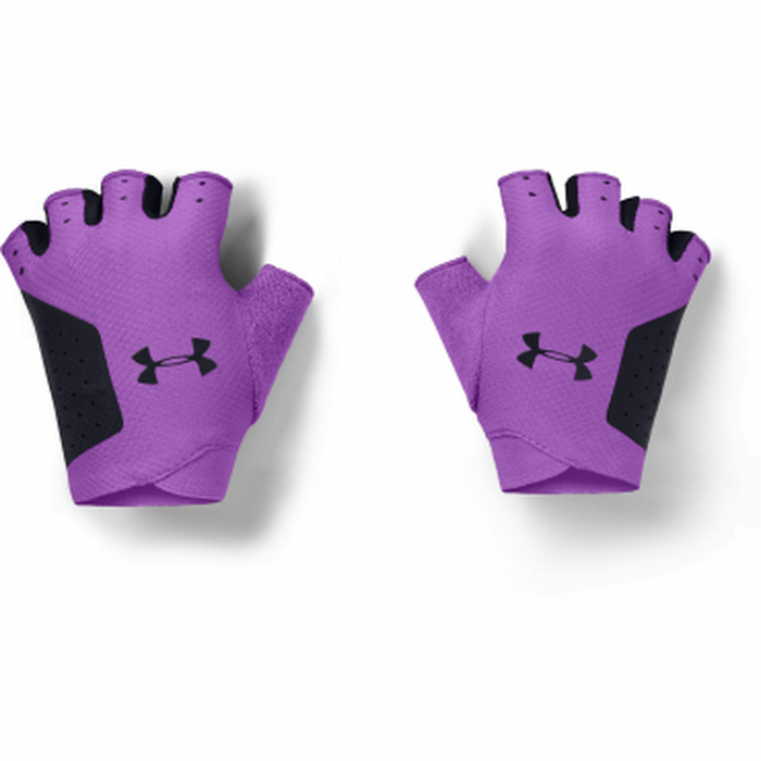 UNDER ARMOUR Women's Training Glove - Exotic Bloom/Black | Cool Switch Technology | Textured And Durable Fabric