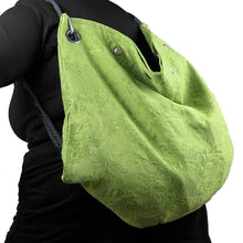 Load image into Gallery viewer, Granny Knapsack || CHARTREUSE Raised