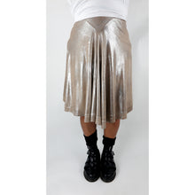 Load image into Gallery viewer, ANTIQUED SILVER SKIRT