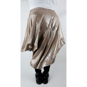 ANTIQUED SILVER SKIRT