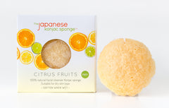 Citrus Fruit Konjac Puff